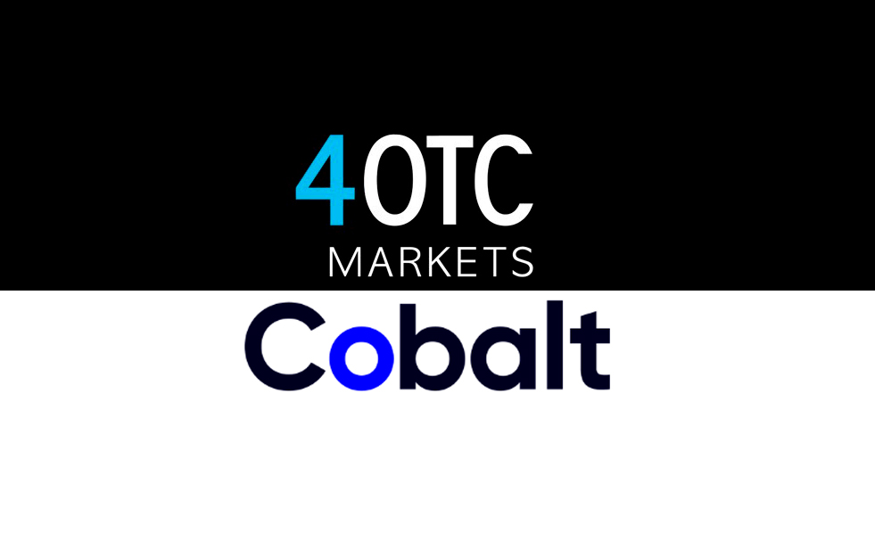 Cobalt Goes Live with 4OTC for Post Trade FX and Digital Assets Connectivity