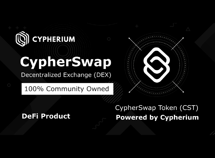 Cypherium Launches CypherSwap: One of the First Cross-Chain Compatible DEX