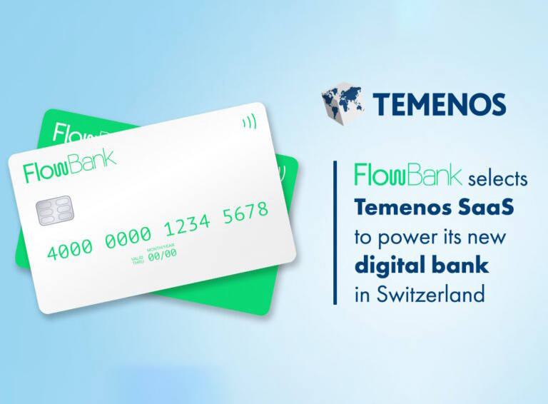 FlowBank Selects Temenos to Launch Digital Bank