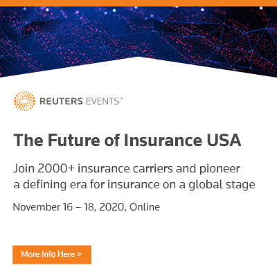The Future of Insurance USA 2020: Discover the CEO and C-level Speakers Confirmed for Reuters Events Flagship Insurance Conference