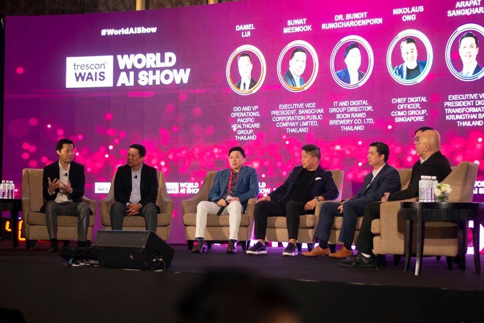 Trescon's World AI Show Showcases Thailand's AI Potential for the Future