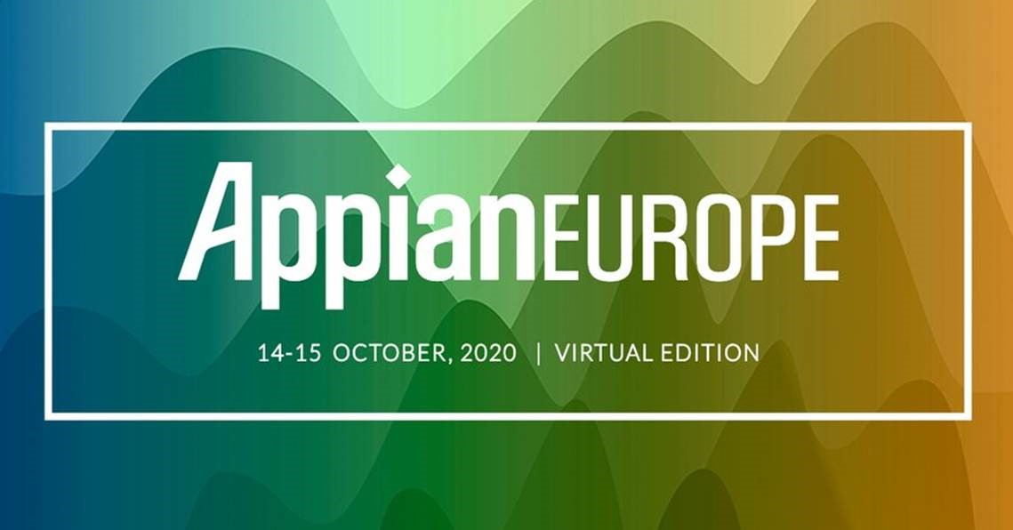 Appian to Host AppianEUROPE20 Virtual Conference on 14-15 October