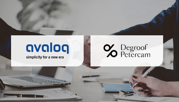 Degroof Petercam To Implement Avaloq's SaaS Solution