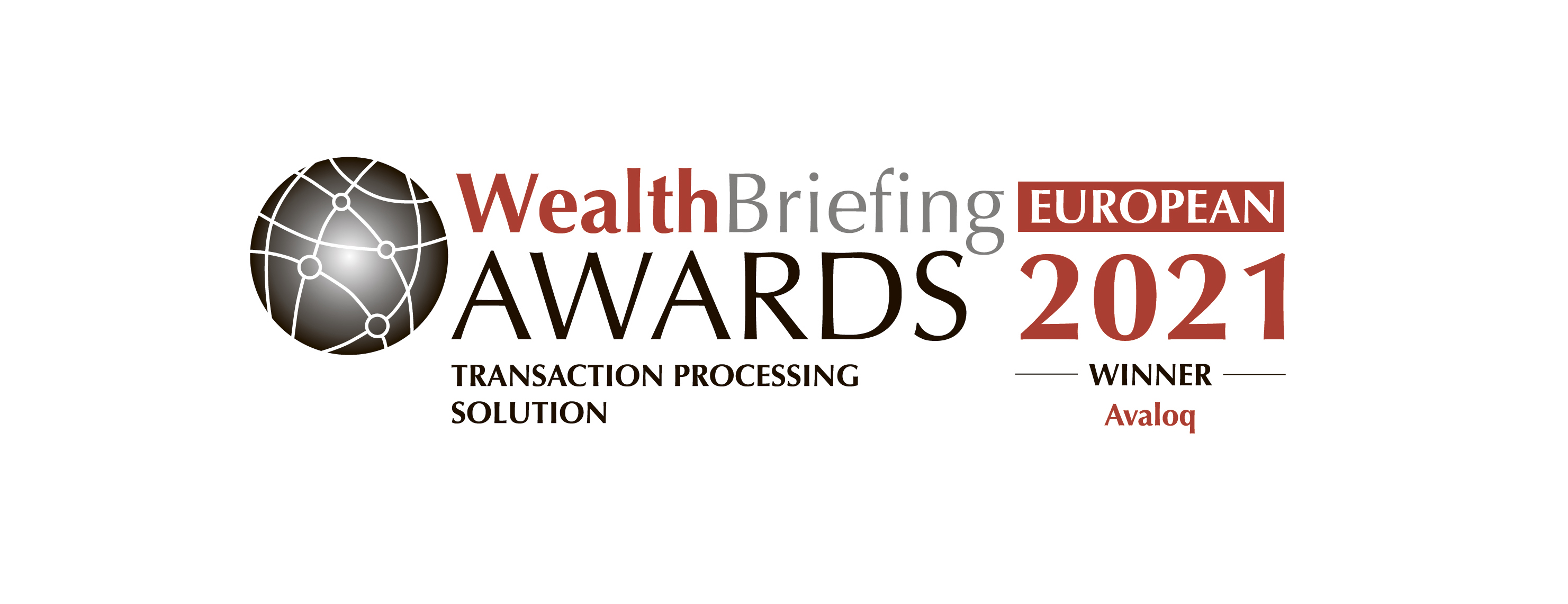 Avaloq wins European Wealth Management Transaction Processing Solution Award for Excellence