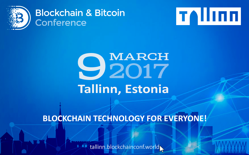 Tallinn to Host the First Large Conference Devoted to Blockchain and Cryptocurrencies
