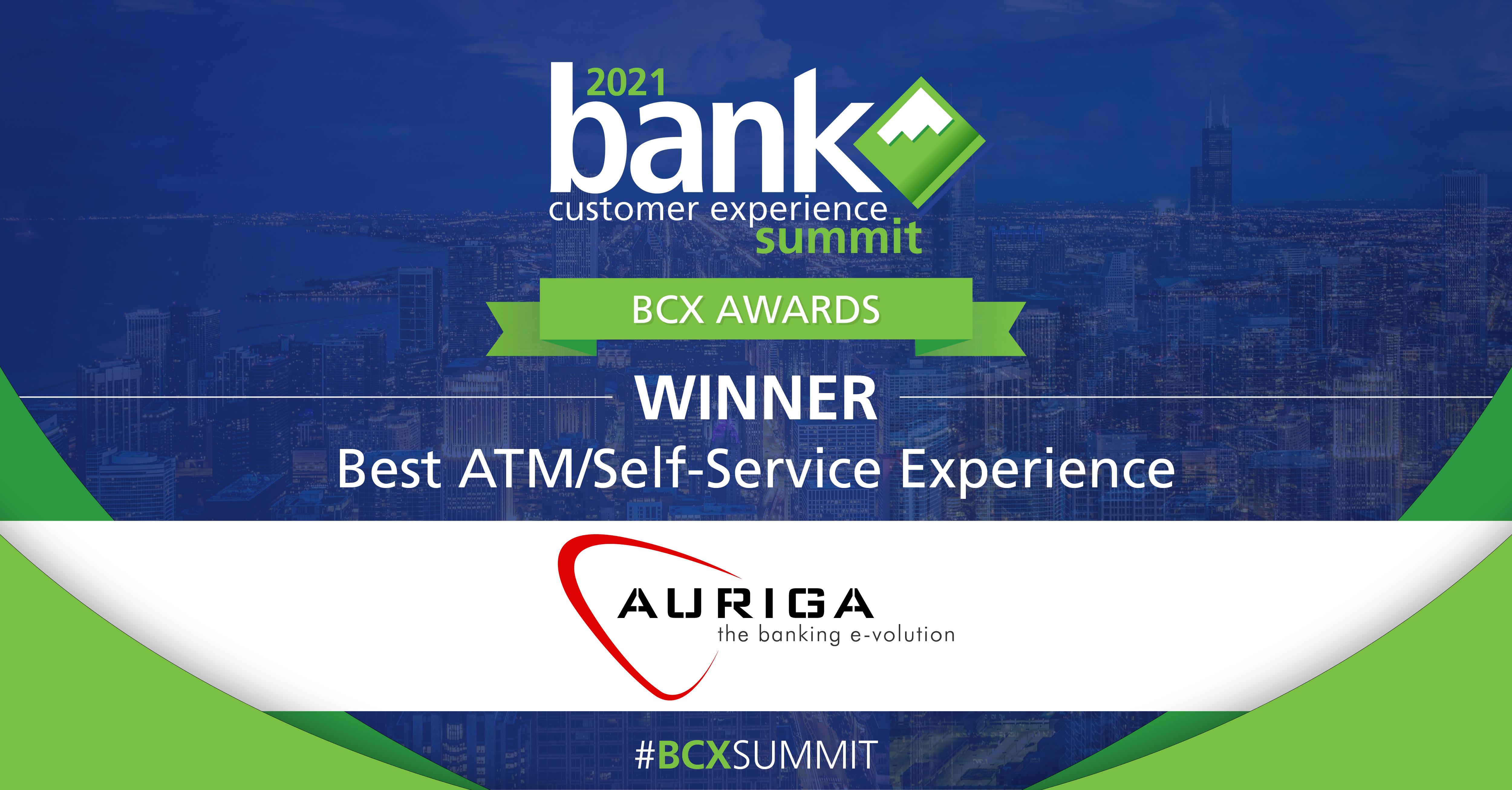 Auriga Wins Top International Award for #NextGenBranch Solution