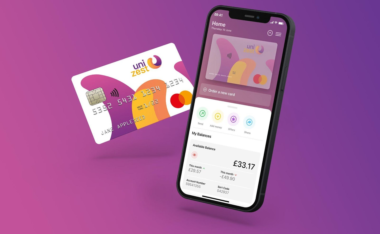 Unizest: the E-account Service for New Arrivals to the UK