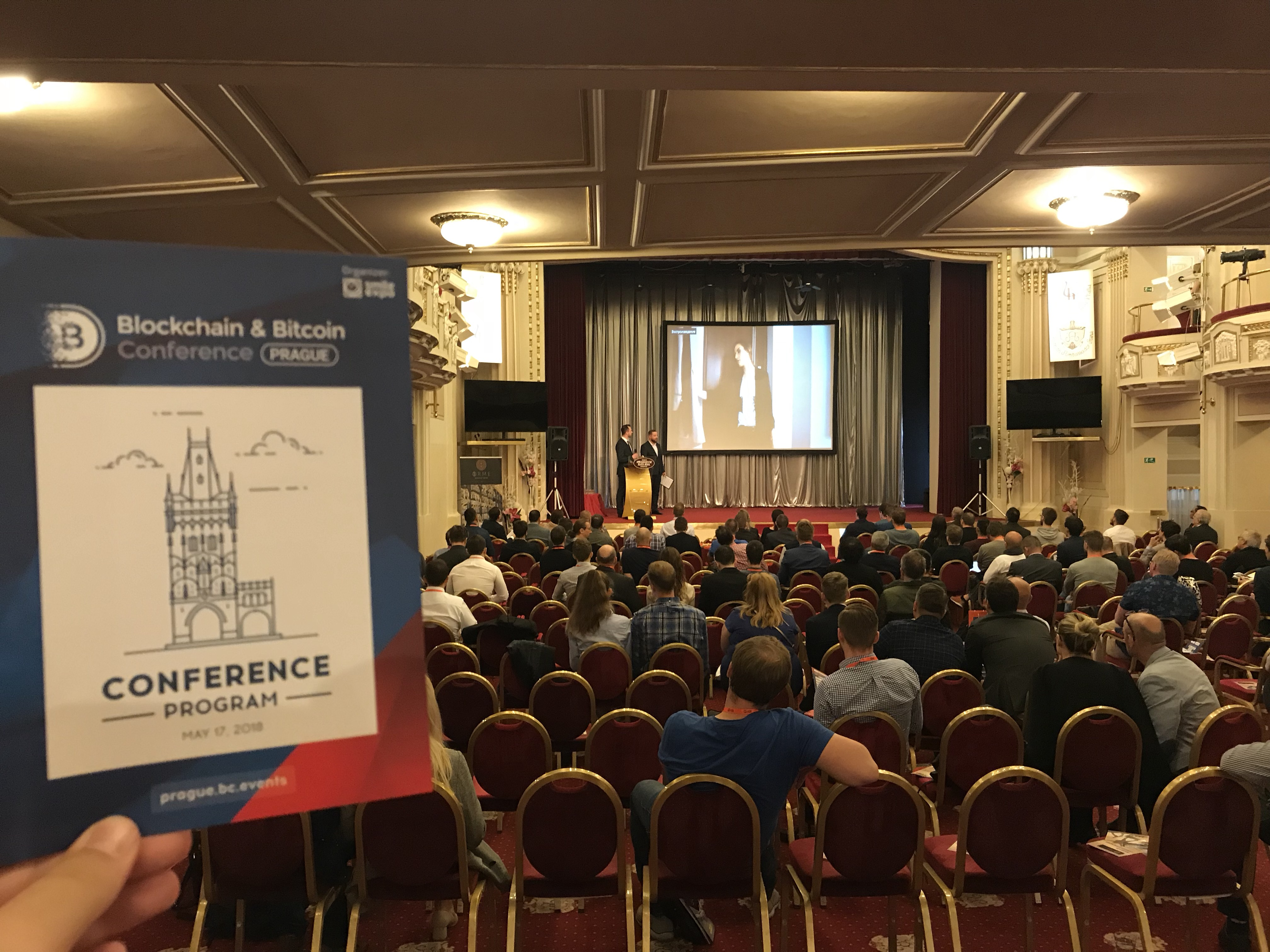 Results of Blockchain & Bitcoin Conference Prague 2018