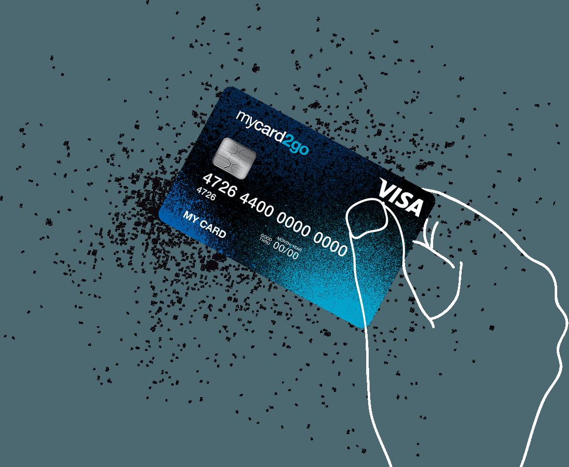 mycard2go Visa Card Available from Wirecard