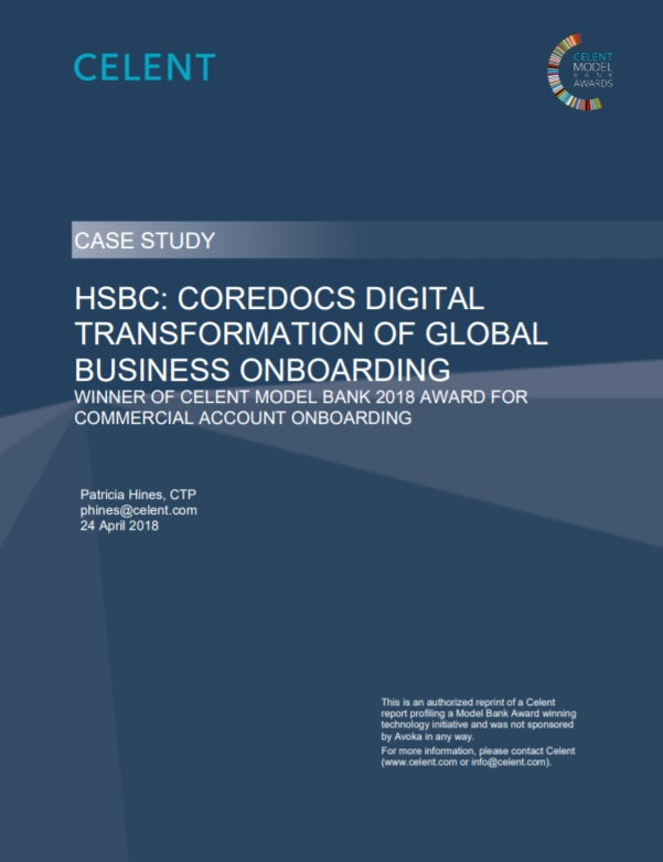 HSBC: CoreDocs Digital Transformation Of Global Business