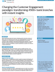 CustomerXPs Delivering Instant Insights to Prominent Bank's 4500 Branches