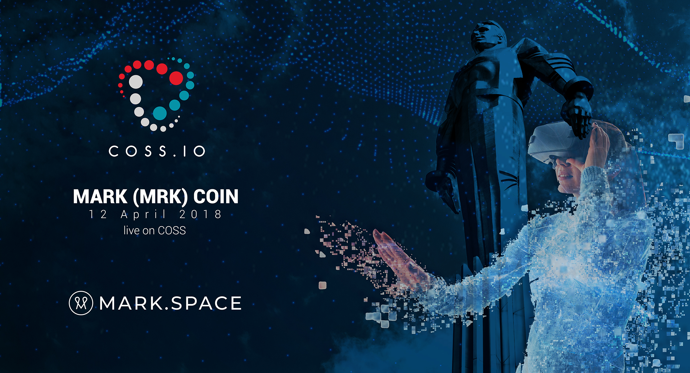 COSS.IO Launches the Trading of MRK-token as the World Celebrates the Human Spaceflight