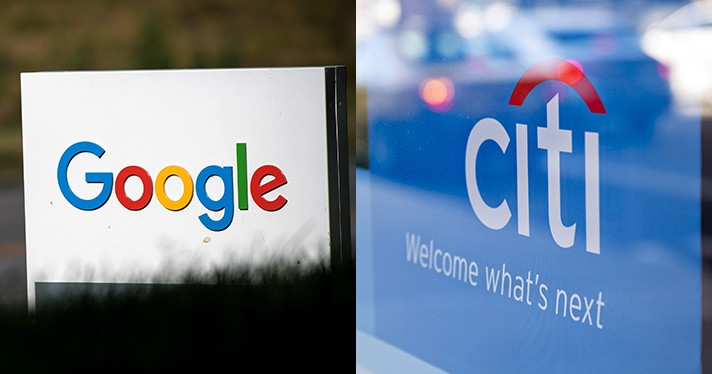 Google Partners Citi on Checking Account