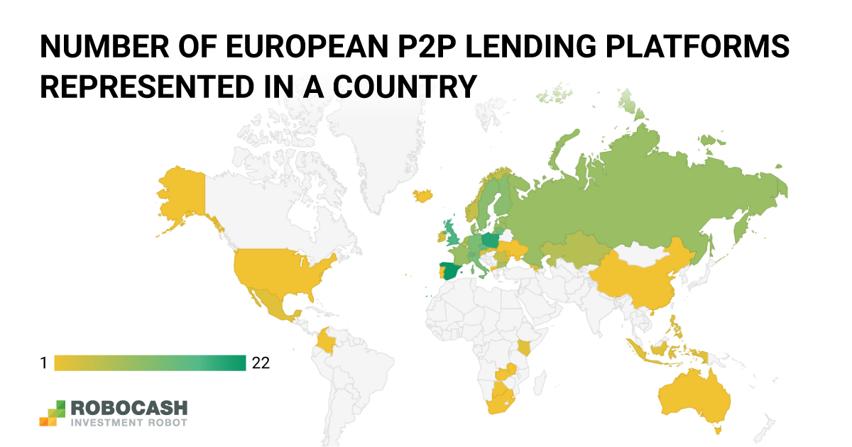 Just 1 in 10 European P2P Lending Platforms Offers Loans from Outside Europe