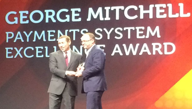VocaLink Won 2016 George Mitchell Payments System Excellence Award