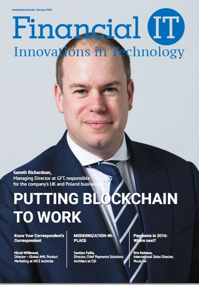 Financial IT January Issue 2016