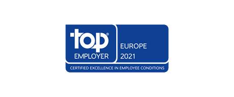 Worldline Recognised as European Top Employer 2021