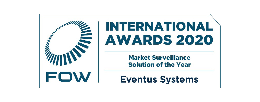 Eventus Systems Wins FOW International Award for Market Surveillance Solution of the Year