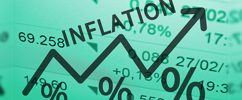 Sterling Falling as the Bank of England Expects Inflation in Excess of 3%
