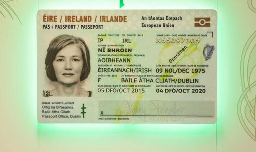 Irish Passport Card Named Best ID Document of the Year