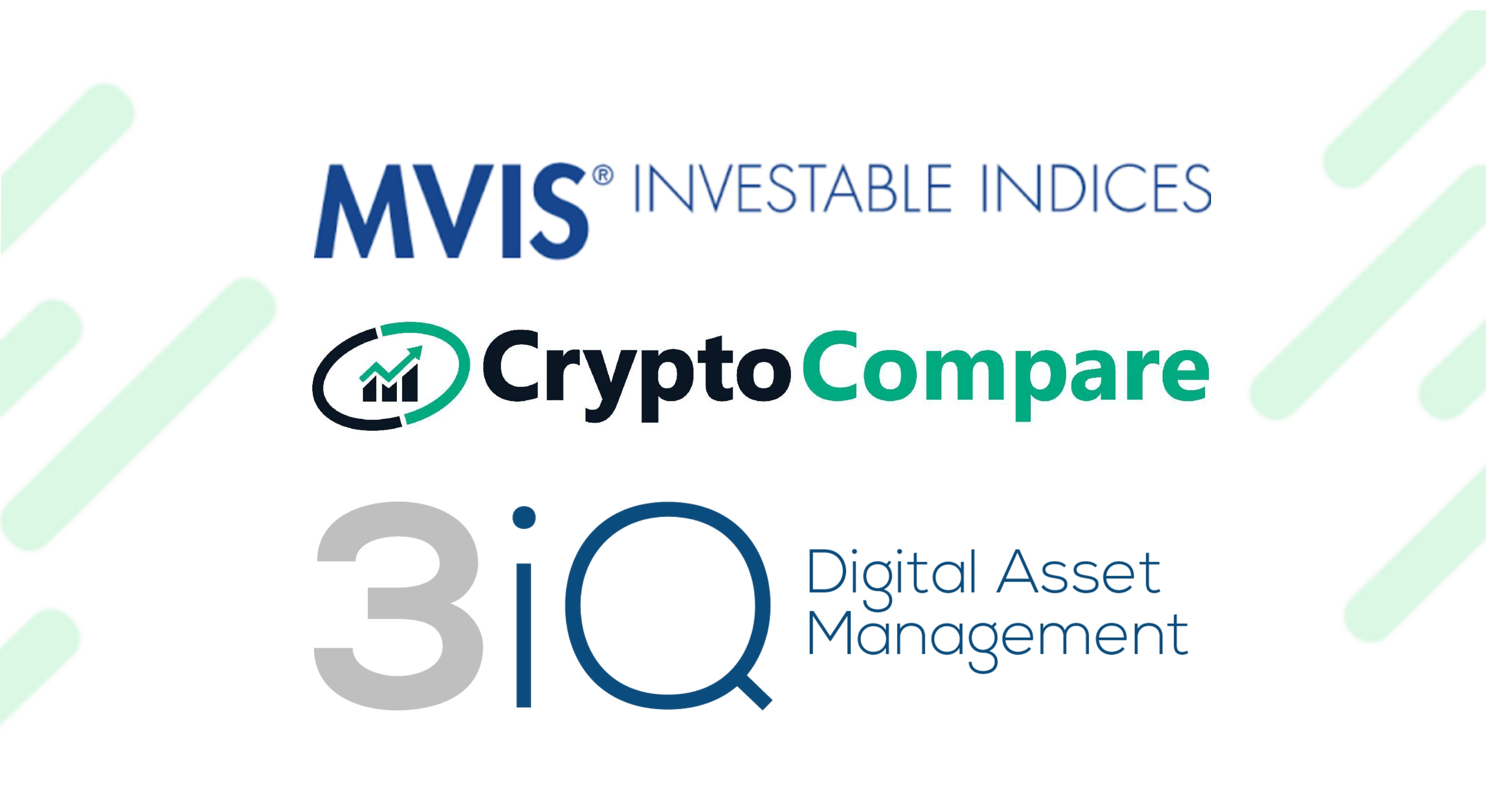 MVIS CryptoCompare Ethereum Benchmark Rate and MVIS CryptoCompare Bitcoin Benchmark Rate Licensed to 3iQ