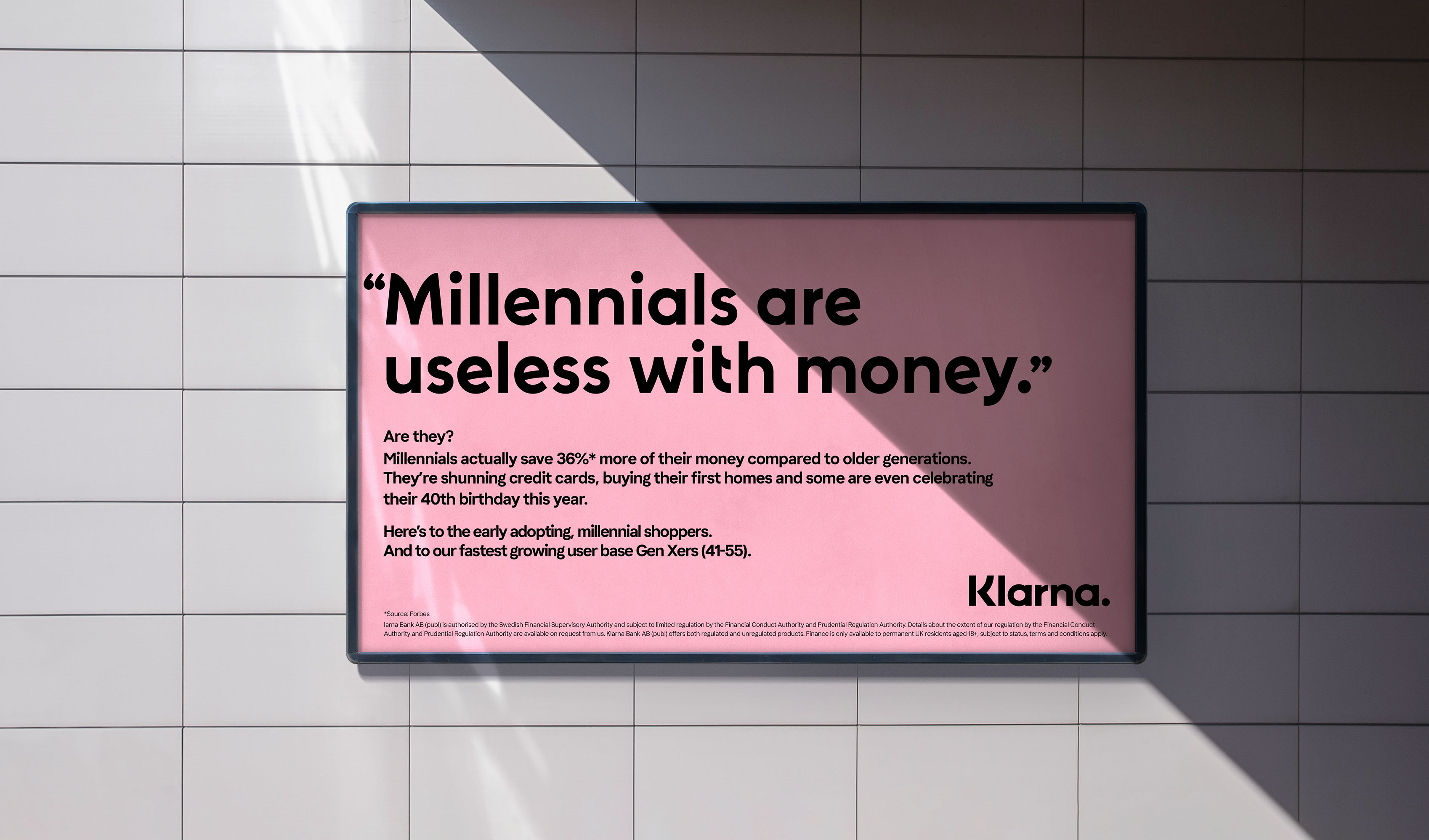 Klarna Launches New Campaign to Celebrate Consumers, Support Regulation and Challenge the Status Quo