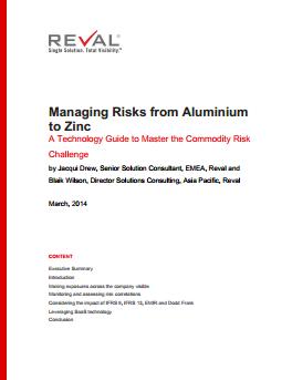 Managing Risks from Aluminium to Zinc