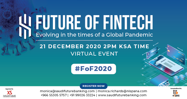 Saudi Arabia to Host a Virtual Event 'Future of Fintech'