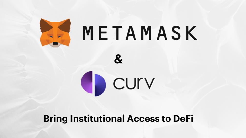 Curv Partners with ConsenSys to Launch Enterprise-Grade DeFi Solution for Institutions