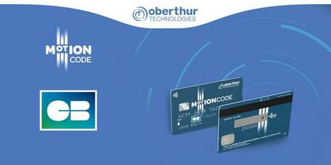 OT's MOTION CODETM Security Code Card Certified by CB Group