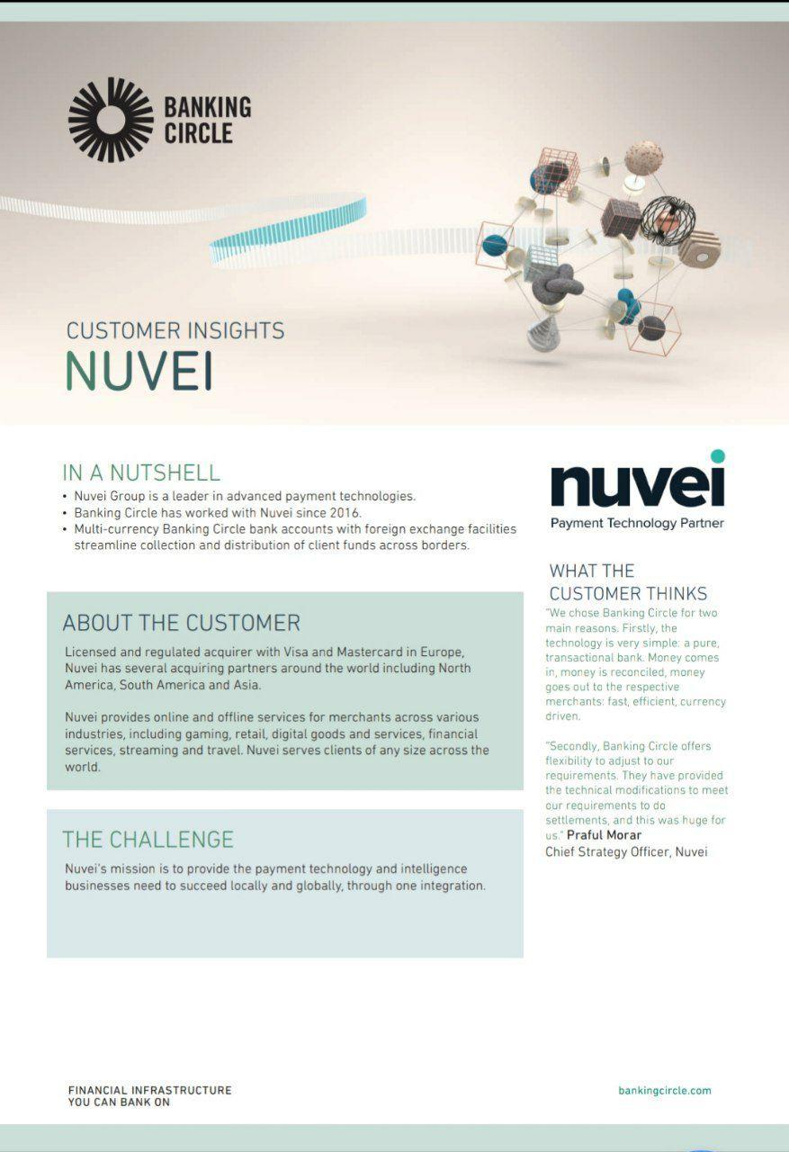 Nuvei Group selects Banking Circle's platform