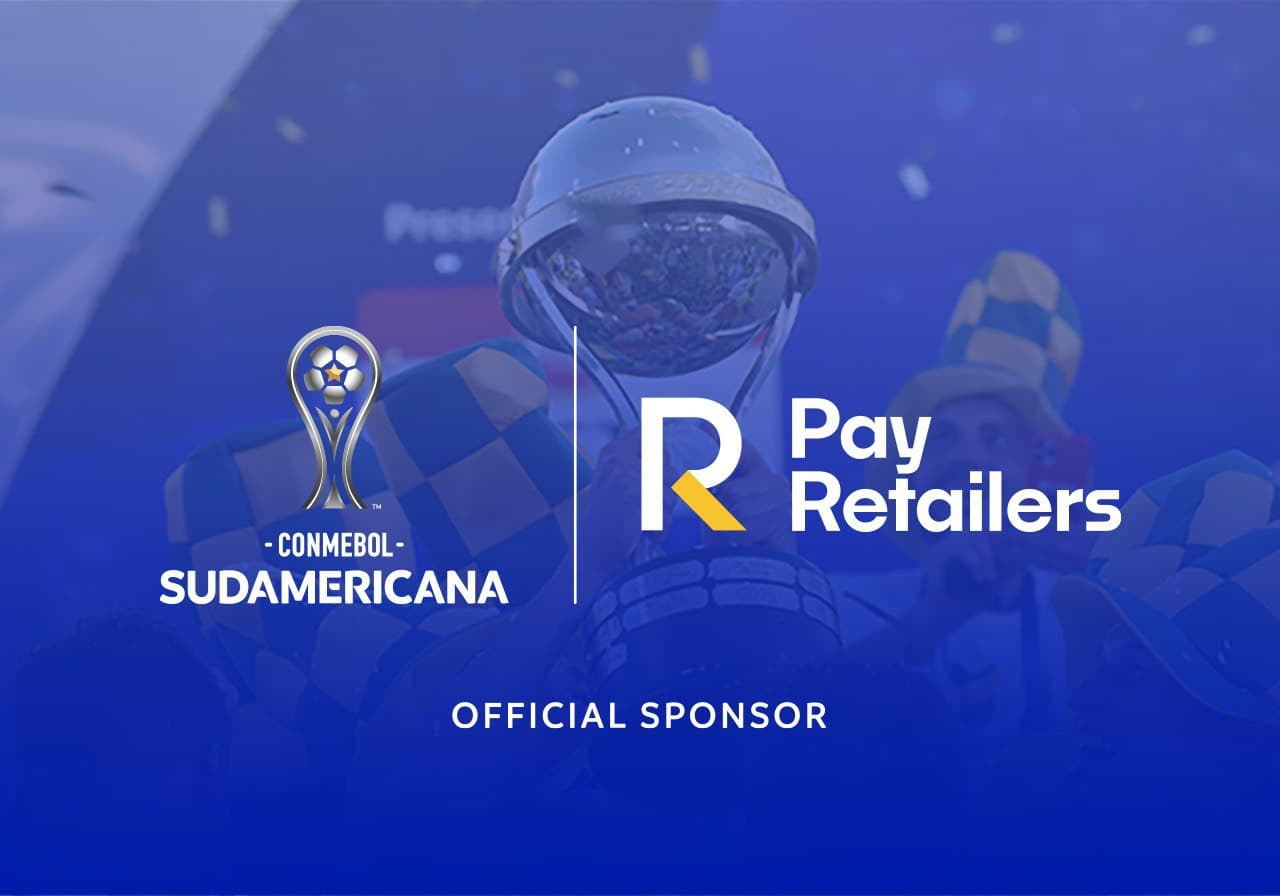 PayRetailers Becomes an Official Sponsor of CONMEBOL Sudamericana, a First Sponsorship Arrangement for the Rapidly Growing Payment Platform