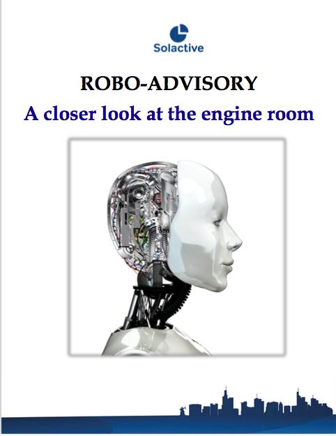 ROBO-ADVISORY: A Closer Look at the Engine Room