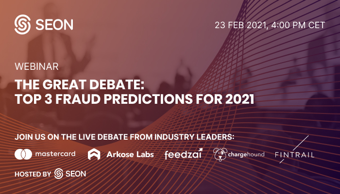 Fraud Industry Experts Enter SEON's Great Debate to Establish What's to Come for the Sector