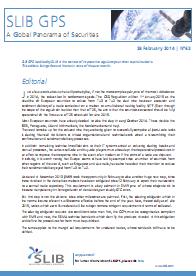SLIB GPS: A Global Panorama of Securities - February 2014