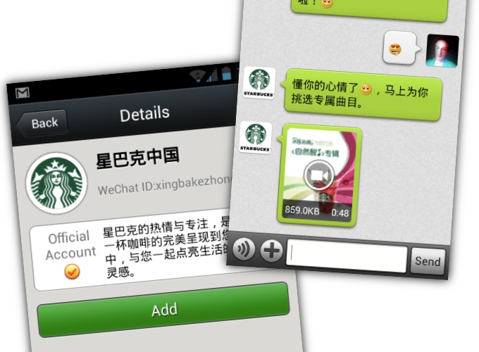 Starbucks taps WeChat for social gifting and digital payments in China