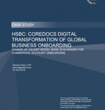 HSBC: CoreDocs Digital Transformation Of Global Business Onboarding