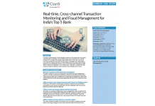 Real-time, Cross-channel Transaction Monitoring and...