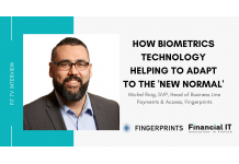Financial IT interview with Michel Roig, SVP of Fingerprints