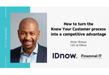Financial IT speaks with Oliver Obitayo, Chief Sales Officer at IDnow