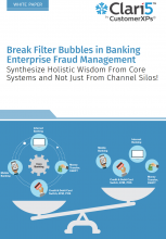 Break Filter Bubbles in Banking Enterprise Fraud Management