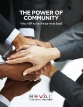 The Power of Community: Why ASP is Not the Same as SaaS