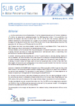 SLIB GPS: A Global Panorama of Securities - February 2014