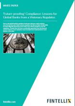 'Future-proofing' Compliance: Lessons for Global Banks from a Visionary Regulator