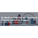 AI, Machine Learning and Sentiment Analysis Applied to Finance