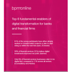 Top 6 fundamental enablers of digital transformation for banks and financial firms