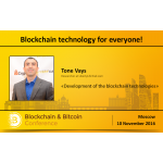 Analyst from Wall Street Tone Vays to Speak at Blockchain & Bitcoin Conference