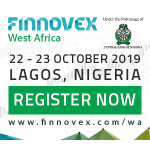 Finnovex West Africa 2019, organized under the Patronage of the Central Bank of Nigeria - The Leading Summit on Financial Services Innovation & Excellence