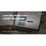 Lumi Web Wallet Adds a Built-in Exchange
