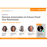 Prudential, Aflac, Liberty Mutual and Blue Prism join Reuters Events to discuss the seismic impact of the insurance trend that won't slow down: Digital Labour and Automation